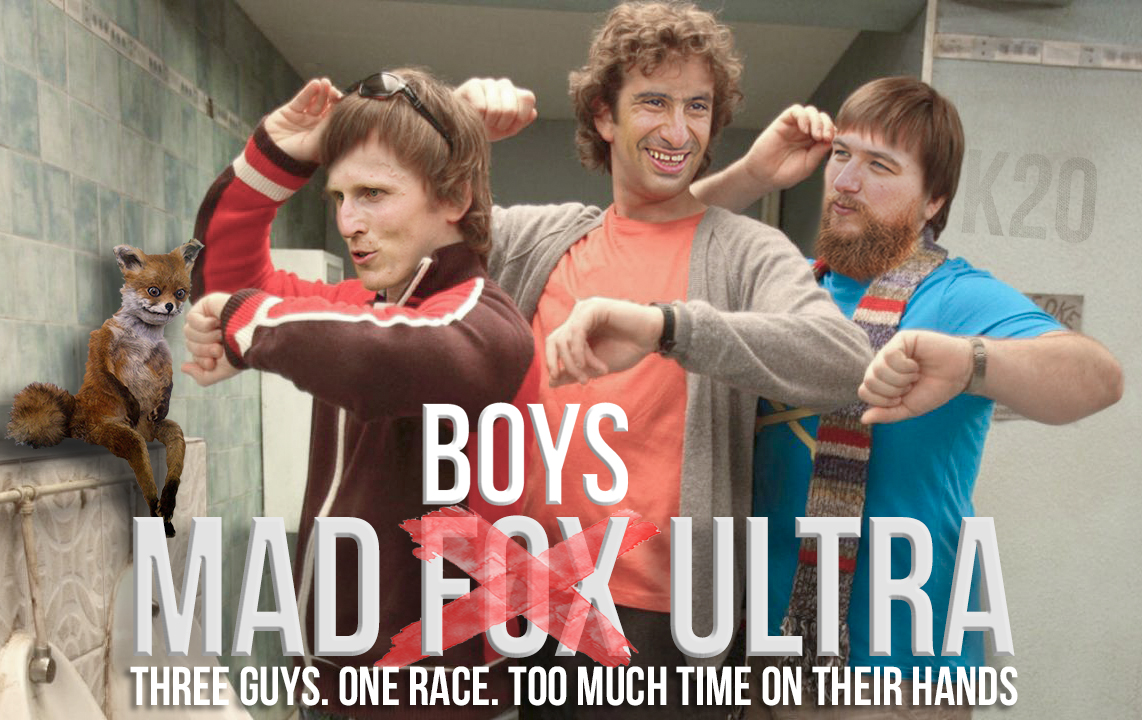 MAD BOYS ON A MAD FOX